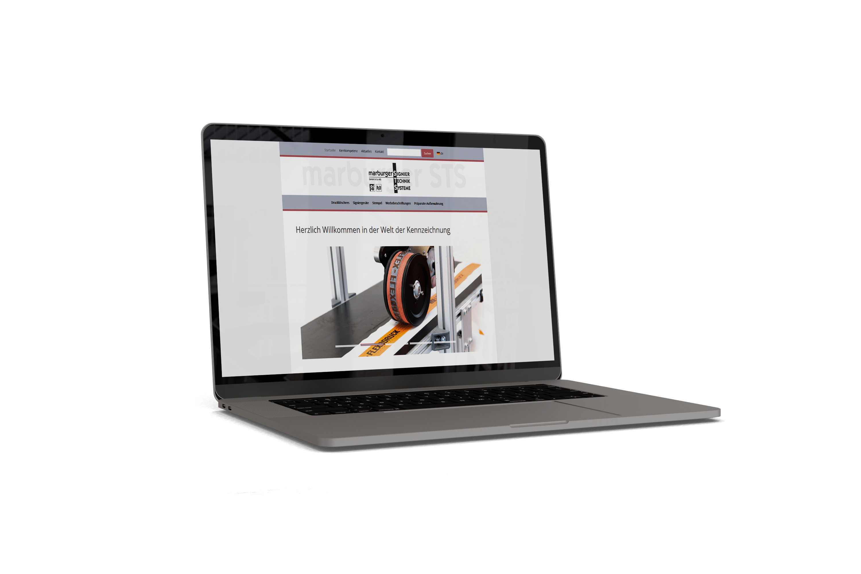 Webseite für marburger-STS